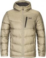 Пуховик Under Armour Down Sweater Hooded- WARM 1323834-299 р.S зеленый
