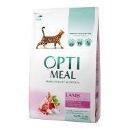 Корм Optimeal з ягням 4 кг