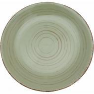 Тарелка подставная Antique green 21 см Bella Vita