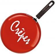 Сковорода для блинов Crepe 26 см красная 88272 Granchio