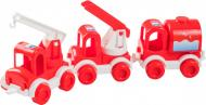 Набор авто Wader Kid Cars Пожарный (39547)