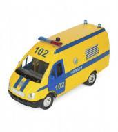 Автомодель Технопарк Газель Полиция желтая (CT-1276-17PU)