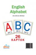 Картки навчальні Зірка Англійська абетка А5 72949