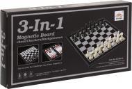 Игровой набор Shantou Шахматы, шашки, нарды 3 в 1 I533500