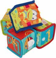 Кубики Bright Starts Мягкие развивающие 9052