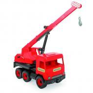 Авто Wader Middle truck Кран красный в коробке (39487)