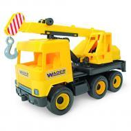 Авто Wader Middle truck Кран желтый в коробке (39491)