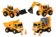 Набор машинок Same Toy Truck Series Строительная техника (R1805Ut)