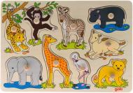 Игра-пазл GoKi Африканские животные 57829
