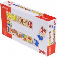 Игра настольная GoKi Мое первое домино 56696