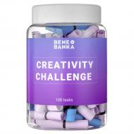 Баночка с записками Bene Banka Creativity Challenge (англ.) BB10EN