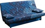 Диван прямий AMF Ньюс Газета з 2 подушками блакитний 1920x950x950 мм