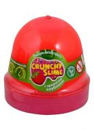 Лизун-антистресс MiC Crunchy Slime Клубника 120 г (80087)