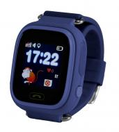 Детские часы с GPS Smart Baby Watch Q90-PLUS Темно-синие
