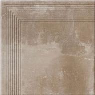 Плитка Cerrad Alivio sand stopnica narozna 30x30