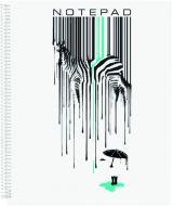 Блокнот студентський Zebra А5+ 60 арк. в клітинку E20226-03 Economix