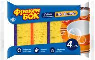 Губка для миття посудудля чищення ванни Фрекен Бок Big Bubble XL 4 шт.