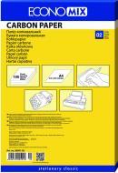 Копировальная бумага А4 100 листов E20501-02 синий Economix
