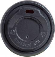 Кришка для паперового стаканчика PROservice 175 мл. чорна 50 шт.