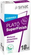 Шпаклівка Siniat Plato Super Finish 18 кг