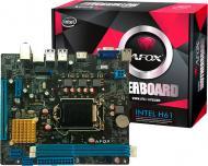 Материнська плата AFOX IH61-MA7 (Socket 1155, Intel H61, mini ATX)