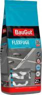 Фуга BauGut flexfuge 111 2 кг серебристо-серый