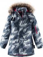 Куртка детская для девочки Reima Softshell Lassie Kataja р.128 синий 721760
