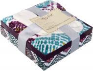 Набір Ziggy Zaggy Ikat: шкарпетки + плед 127x152 см різнокольоровий La Nuit