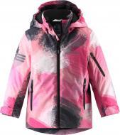 Куртка детская для девочки Reima Lassietec Timka р.140 персиковый 721730