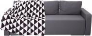 Плед Трикутник 140x180 см чорно-білий Underprice