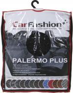 Накидка на сидіння Carfashion Palermo Plus 21764 4 шт. чорний із сірим