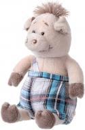 Мягкая игрушка Same Toy Свинка в комбинезоне 18 см THT709
