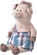 Мягкая игрушка Same Toy Свинка в комбинезоне 45 см THT706