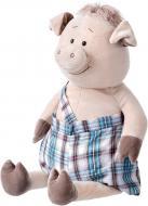 Мягкая игрушка Same Toy Свинка в комбинезоне 60 см THT705