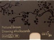 Набіркоричневих листівок HAIKU в коробці 14,7*10,6см, 325г/м2 Smiltainis