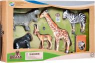 Обучающий игровой набор Wenno с QR-картой Животные Африки (WAF1702)