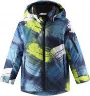 Куртка детская для мальчика Reima Lassietec Timka р.134 синий 721730