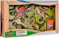 Обучающий игровой набор Wenno с QR-картой Хищные динозавры (WCD1701)