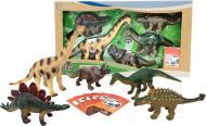 Обучающий игровой набор Wenno с QR-картой Травоядные Динозавры (WHD1701)