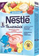 Каша молочная Nestle Помогайка 3 злака с бананом и клубникой 7613033594670 200 г