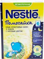 Каша безмолочная Nestle Помогайка Счастливых снов 4606272031320 200 г