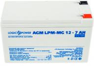 Акумулятор LogicPower AGM LPM-MG 12 - 7 AH