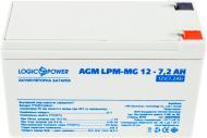 Акумулятор LogicPower AGM LPM-MG 12 - 7,2 AH