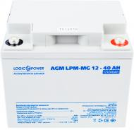 Акумулятор LogicPower AGM LPM-MG 12 - 40 AH