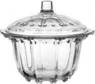 Сахарница с крышкой 12,6 см стекло Banquet