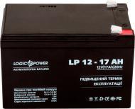 Акумулятор LogicPower AGM LP 12 - 17 AH