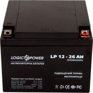 Акумулятор LogicPower AGM LP 12 - 26 AH