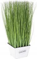 Растение искусственное Мискант в металлическом горшке 55х88 см