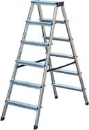Лестница-стремянка Krause Dopplo двусторонняя 2x6 (120427)