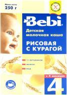 Каша молочна Bebi від 4 місяців рисова з курагою 3838600076456 250 г